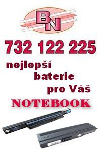 Baterie do notebooku