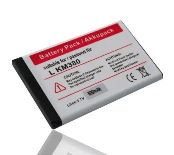 Baterie pro LG, do LG KM380 800mAh nahrazuje ORIGINÁL LGIP-330G