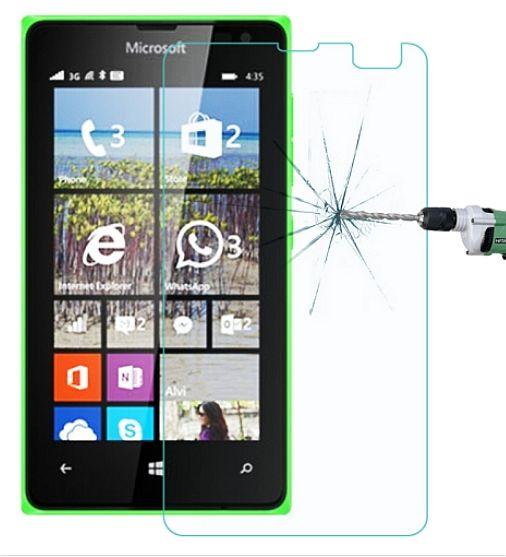 Ochranné sklo, sklíčko na displej Microsoft 532 Lumia - temperované ( tvrzené )
