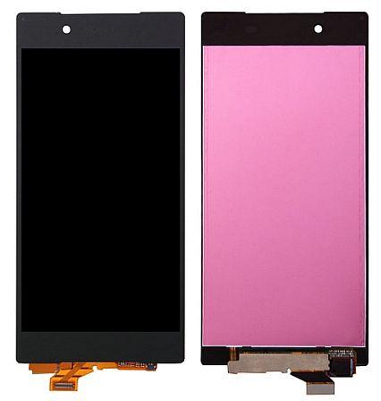 Display, LCD displej SONY Xperia Z5 + dotyková plocha, deska - komplet černý