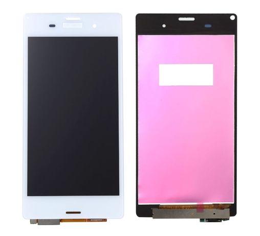 LCD displej SONY Xperia Z3 D6603 + dotyková plocha BÍLÝ Original Quality