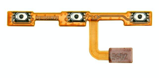 Zapínací, power ON-OFF tlačítko + tlačítka hlasitosti na flexu pro Huawei P9 Lite - ORIGINÁL