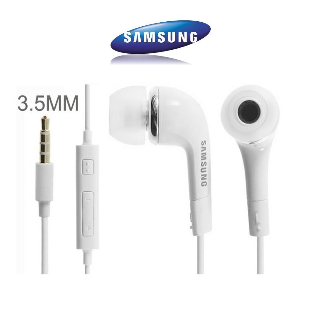 Sluchátka Samsung Galaxy J5 2017 J530F - špunty bílé ORIGINÁL