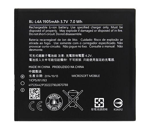 Baterie pro Microsoft 535 Lumia 1905mAh Li-Ion ORIGINÁL