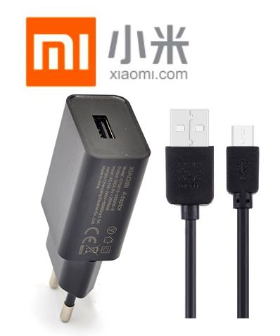 Síťová nabíječka pro Xiaomi Redmi Note 4X ORIGINÁL + dobíjecí, data kabel SPEED