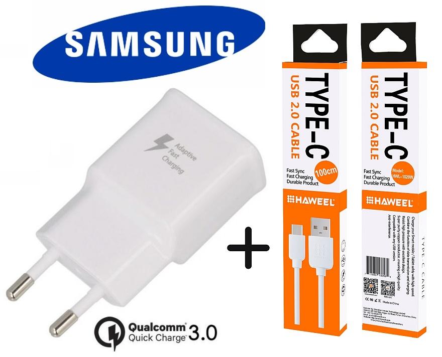 Nabíječka 2A pro Samsung G950F Galaxy S8 + nabíjecí, data kabel ORIGINÁL