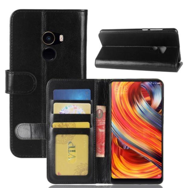 Pouzdro pro Xiaomi Mi Mix 2 luxusní černé CRAZY