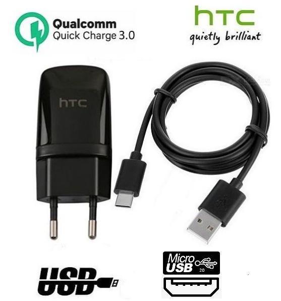 Nabíječka pro HTC One M9 - 1,5A + nabíjecí, data kabel ORIGINÁL