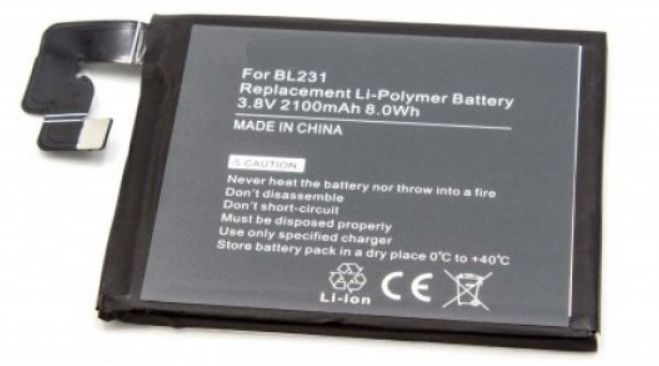 Baterie pro Lenovo S90 2100mAh Li-ION nahrazuje ORIGINÁL