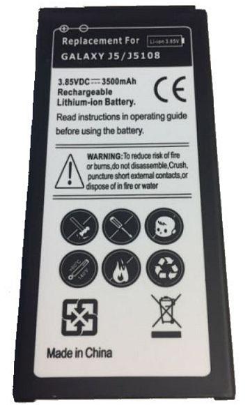Baterie Samsung Galaxy J5 2016 J510F 3100mAh Li-Ion nahrazuje ORIGINÁL