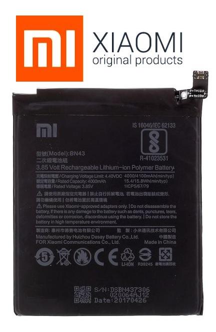 Baterie Xiaomi Redmi Note 4X Li-POL 4000mAh ORIGINÁL
