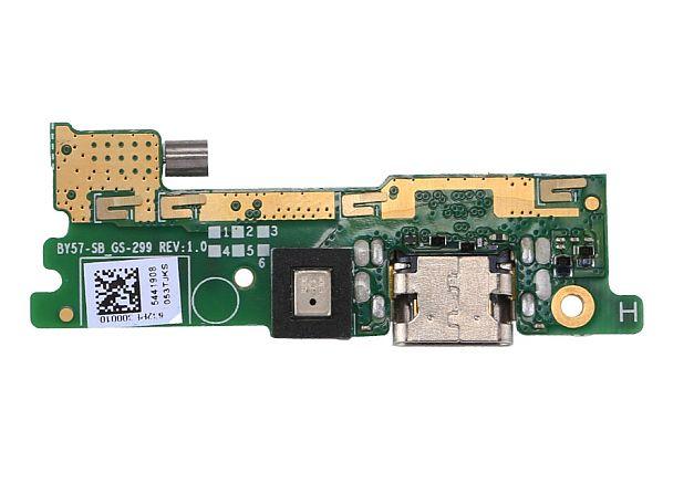 Konektor dobíjení + mikrofon Sony Xperia XA1 na desce