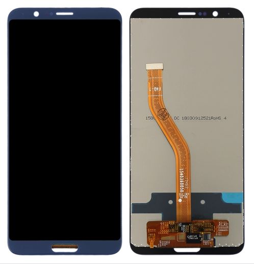 LCD Displej Honor View 10 modrý + dotyková plocha