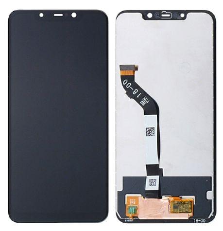 LCD displej Xiaomi Pocophone F1 černý + dotyková plocha