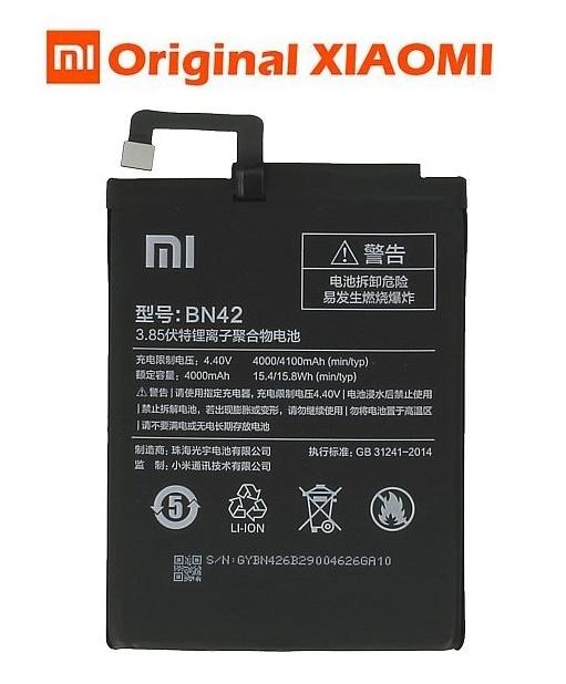 Baterie Xiaomi Redmi 4 Li-Ion 4100mAh ORIGINÁL