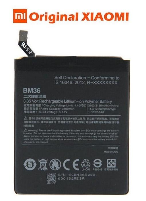 Baterie Xiaomi Mi5s Li-Pol 3180mAh ORIGINÁL