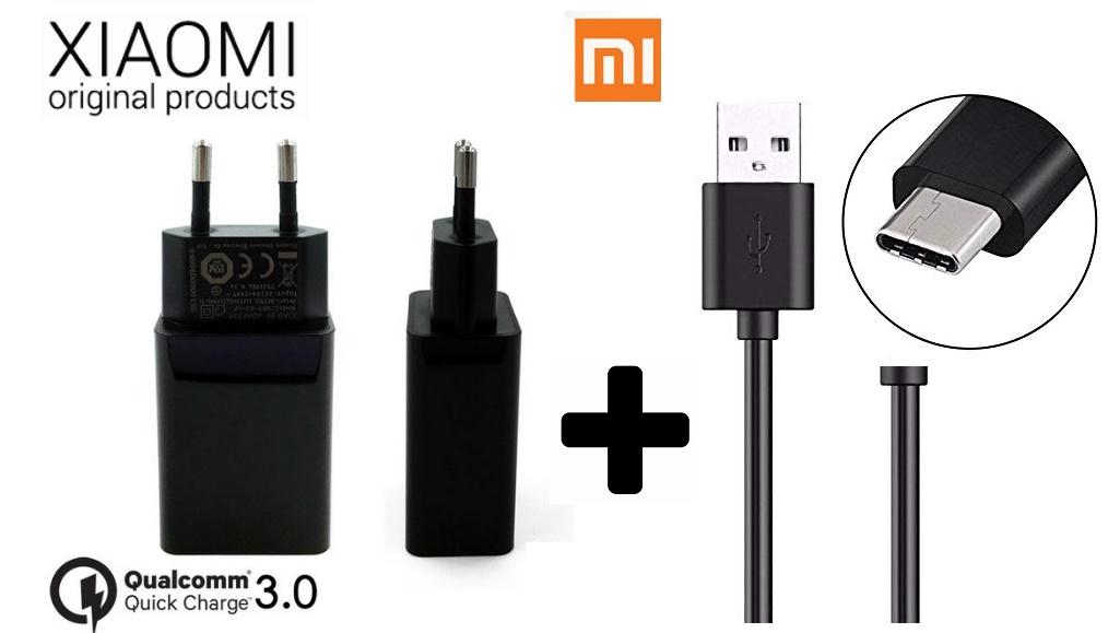 Nabíječka Xiaomi Mi5s Quick Charge 3.0 + kabel ORIGINÁL