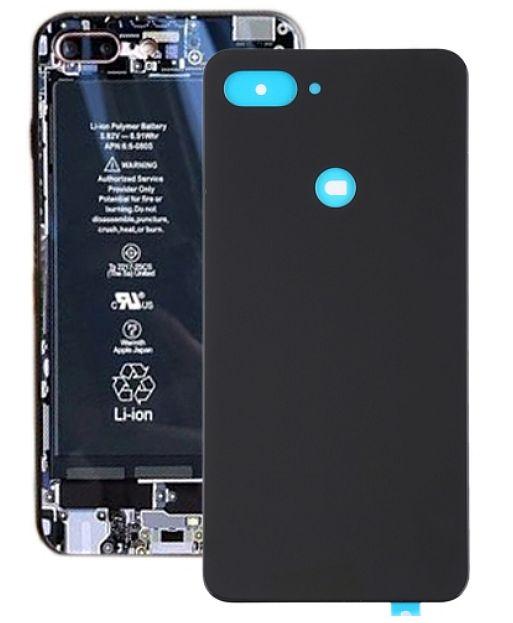 Zadní kryt baterie pro Xiaomi Mi 8 Lite černý, black