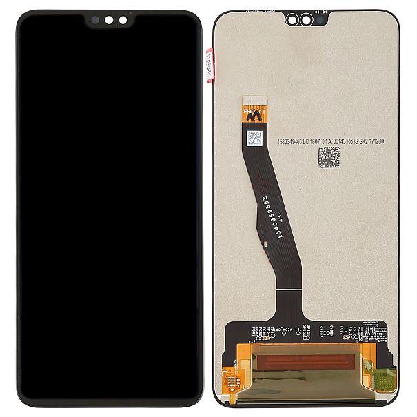LCD displej Honor 8x černý + dotyková plocha, nahrazuje ORIGINÁL