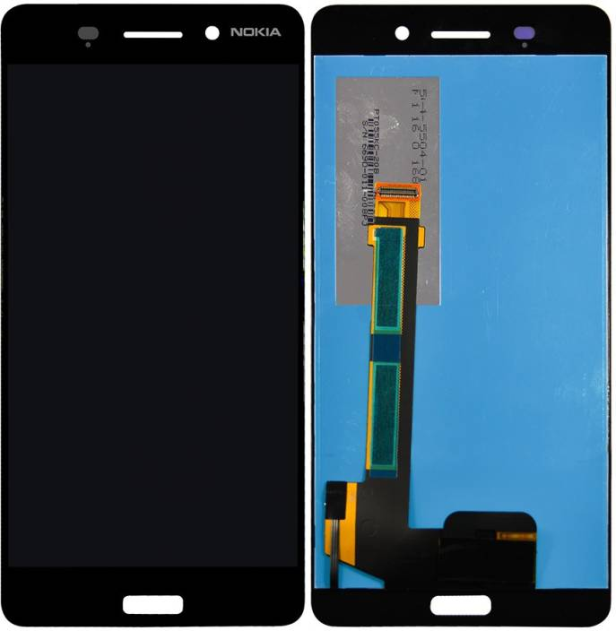 LCD displej Nokia 6 černý + dotyková plocha