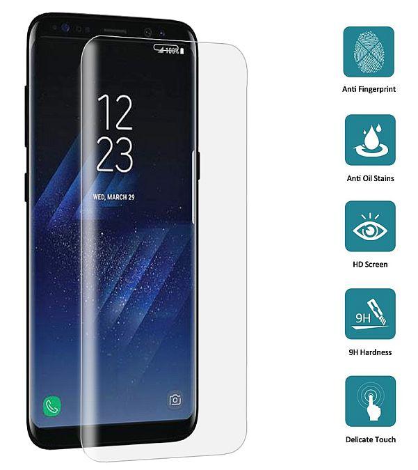 Tvrzené sklo Samsung Galaxy S8 G950F zaoblené čiré, FULL SCREEN