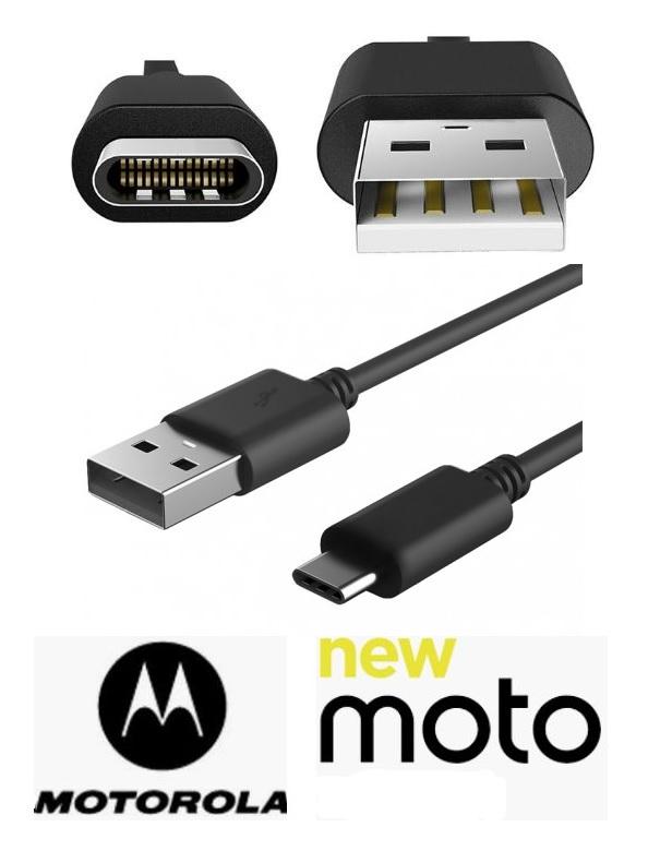 USB datový, dobíjecí kabel pro Motorola Moto G6 Plus ORIGINÁL