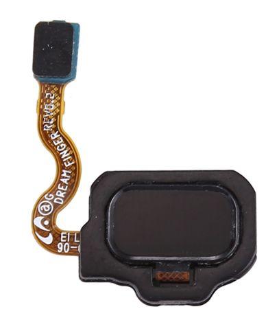 Senzor, snímač otisku prstu pro Samsung Galaxy S8 G950F černý + flex kabel