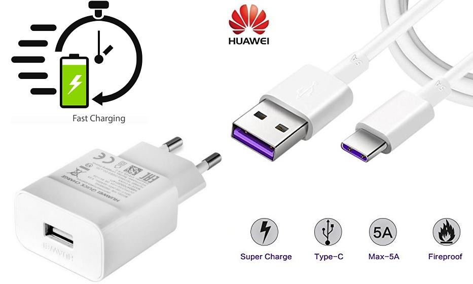 Nabíječka Huawei P30 Lite Quick Charge + kabel typ C ORIGINÁL