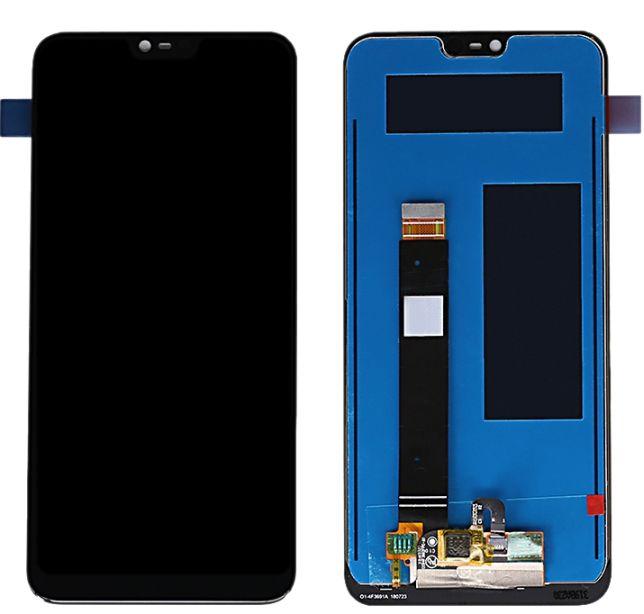 LCD displej Nokia 7.1 černý + dotyková plocha