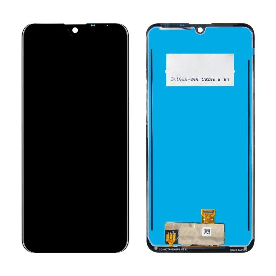 LCD displej LG K50 černý + dotyková plocha