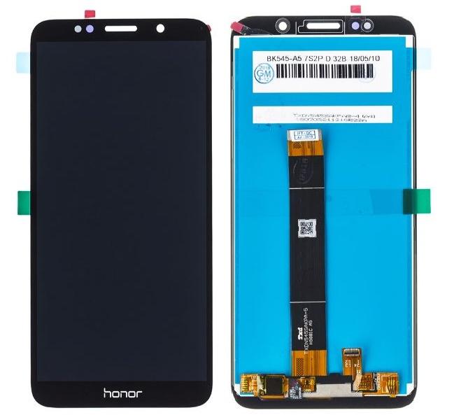 LCD displej Huawei Y5 2018 černý + dotyková plocha, nahrazuje ORIGINÁL