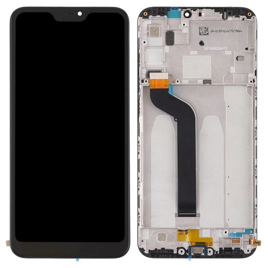 LCD displej Xiaomi Mi A2 Lite černý + přední kryt