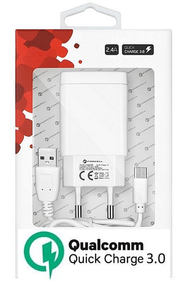 Nabíječka pro Xiaomi Redmi Note 8T Quick Charge 3.0 + kabel, nahrazuje ORIGINÁL