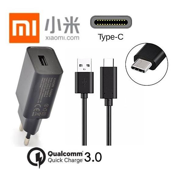Nabíječka pro Xiaomi Redmi Note 9 Pro Quick Charge 3.0 + kabel ORIGINÁL