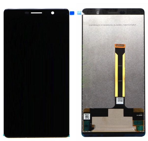 LCD displej Nokia 7 Plus černý