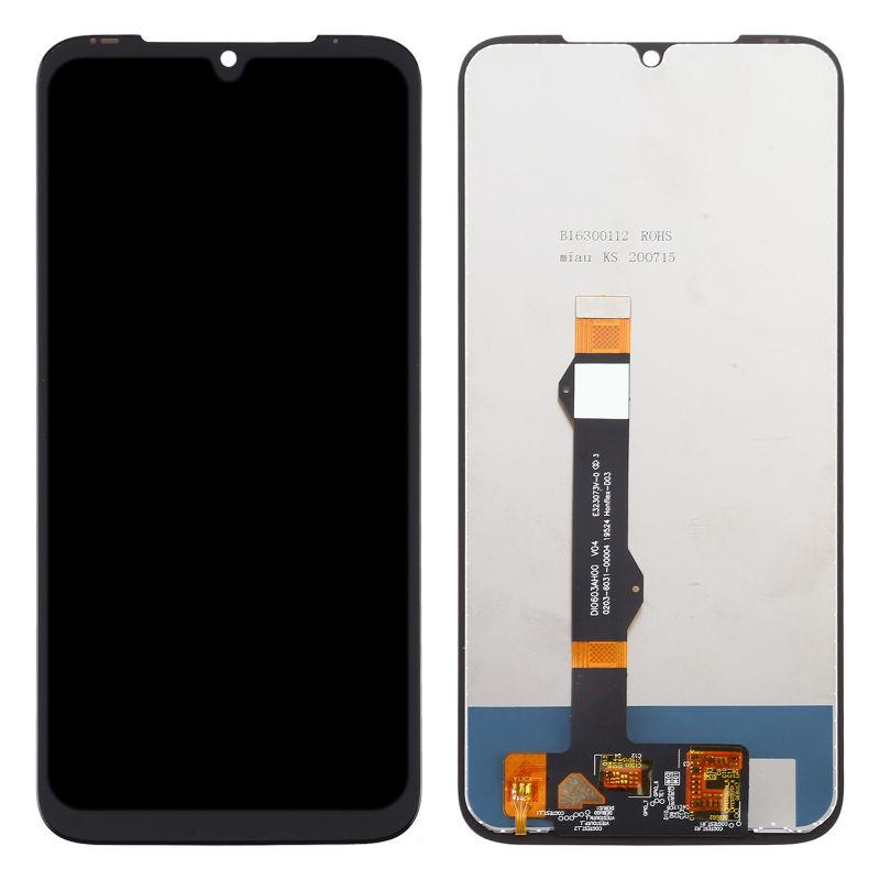 LCD displej Motorola Moto G8 Plus černý