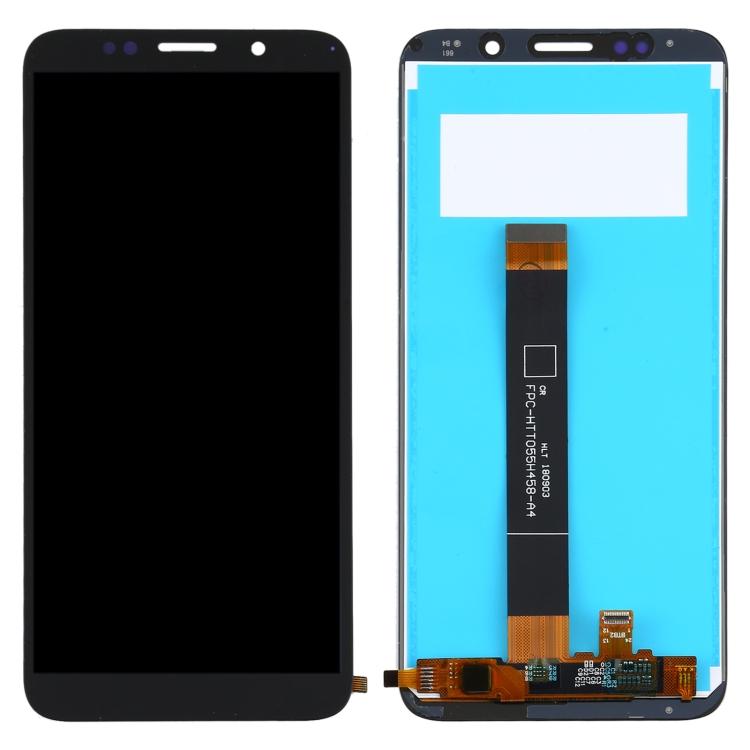 LCD displej Huawei Y5p černý