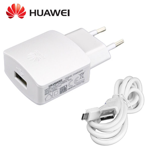 Síťová nabíječka pro Huawei P40 Lite E ( 1000mA ) + datový kabel ORIGINÁL