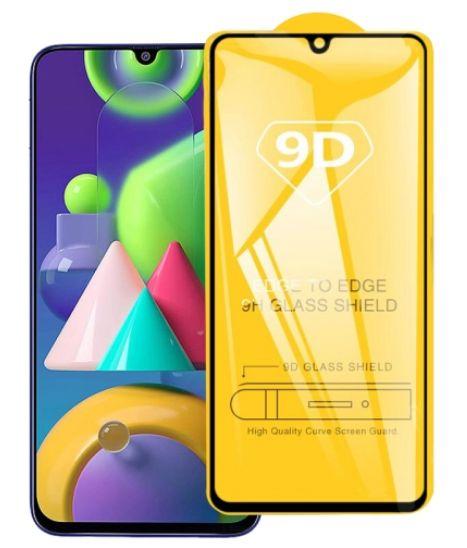 Tvrzené sklo Samsung Galaxy M21 M215F FULL SCREEN, FULL GLUE