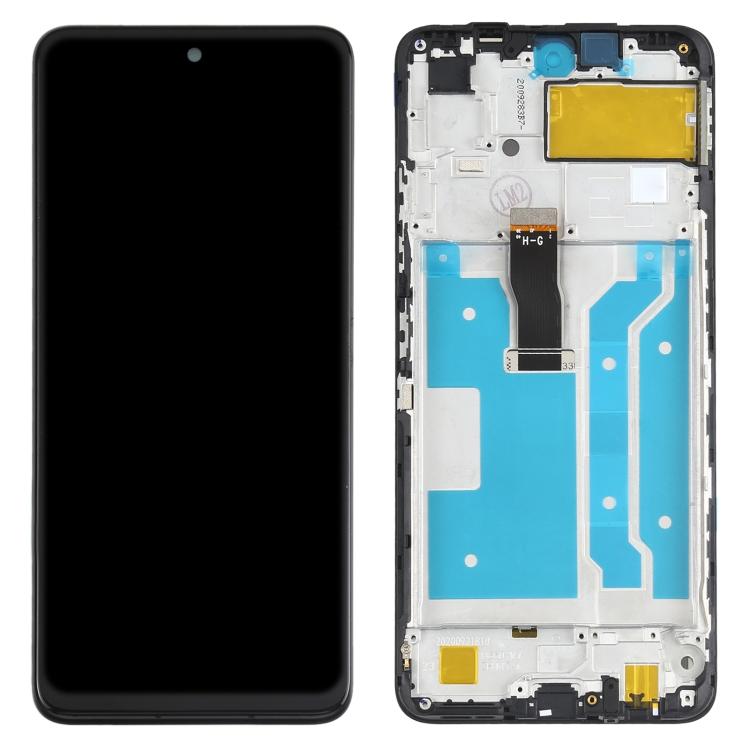 LCD displej Huawei P smart 2021 + přední kryt černý