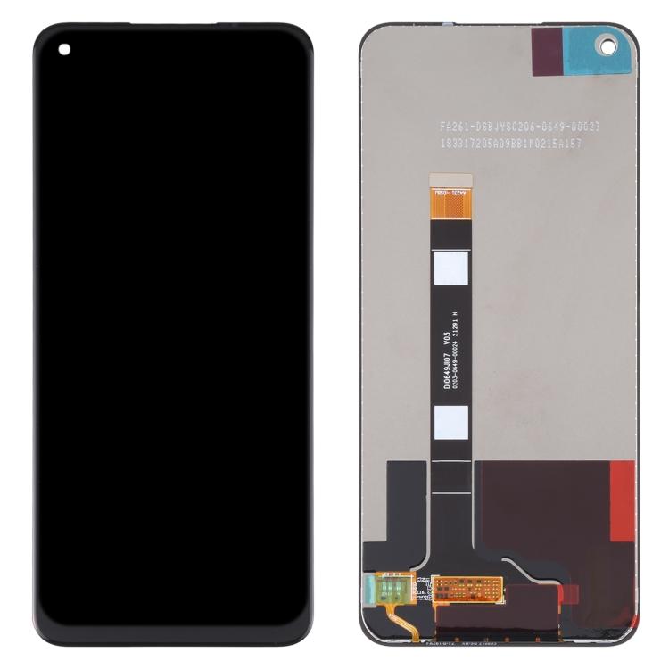LCD displej Realme 8 5G černý