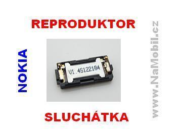 Reproduktor na Nokii, sluchátko pro Nokia 808 Pureview - ORIGINÁL repráček sluchátka