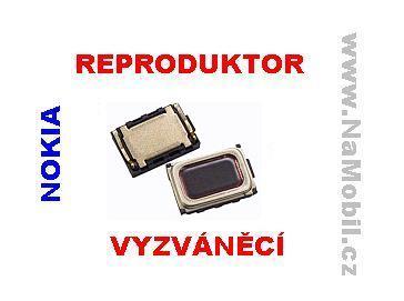 Zvonek na Nokia X6, X6-00 - reproduktor vyzváněcí pro Nokii ORIGINÁL - repráček vyzvánění
