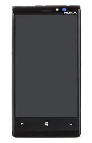 LCD displej Nokia 920 Lumia + dotyková deska, plocha Originál lepený