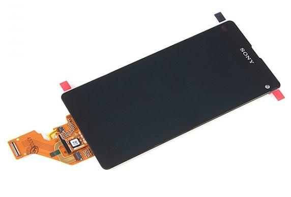 Displej na SONY, pro Xperia Z1 Compact D5503 + dotyk. deska - komplet