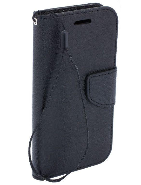 FANCY Pouzdro pro Samsung Galaxy S4 i9505 černé, umělá kůže