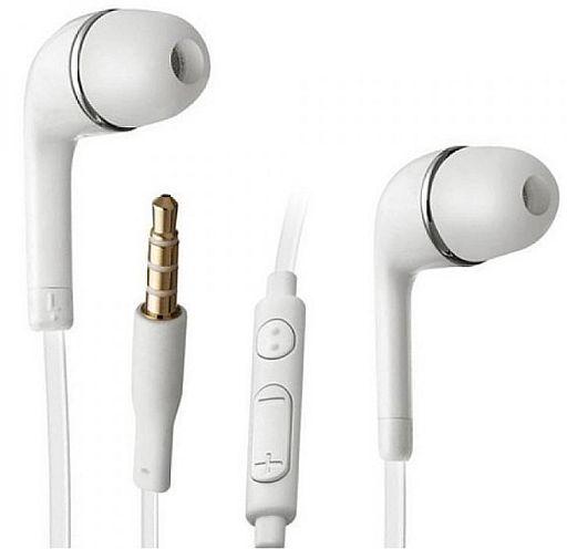 Sluchátka na Samsung, pro Samsung Galaxy S6 G920F - ORIGINÁL bílé