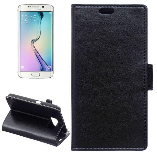 Pouzdro pro Samsung, na Samsung Galaxy S6 edge G925F - naklapávací, černé