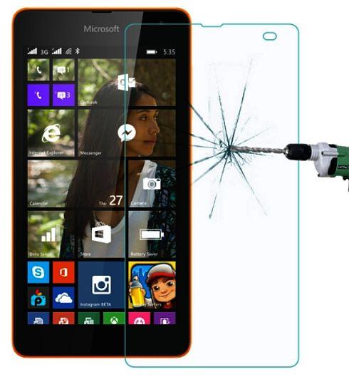 Ochranné sklo, sklíčko na LCD displej Microsoft 535 Lumia - screenprotector