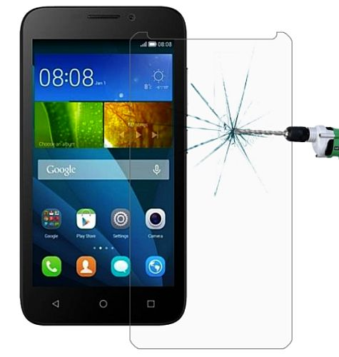 Ochranné sklo, sklíčko displeje na Huawei Y6 temperované
